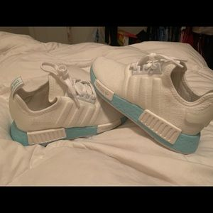 Brand new NMD blue sole